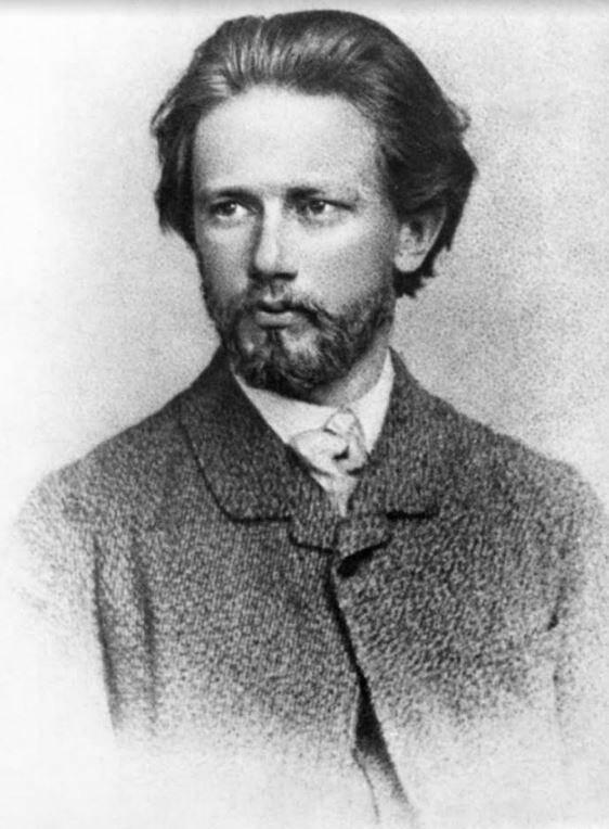 Piotr Ilitch Tchaïkovski jeune