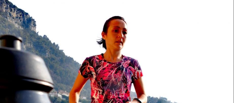 Gladys Thong-Chane amis plus de 5 heures pour faire son marathon.