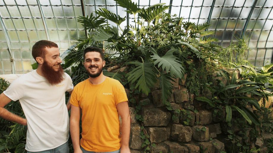 Maxime et Jean-Louis, les fondateurs de SunnyCare