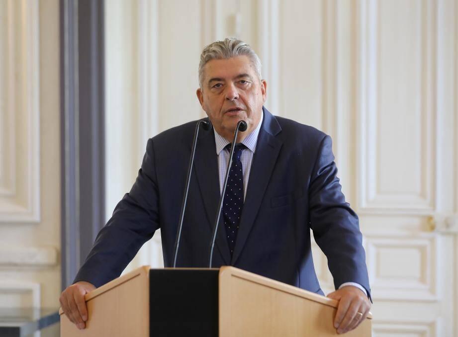 Pierre Dartout, nouveau chef du gouvernement princier.