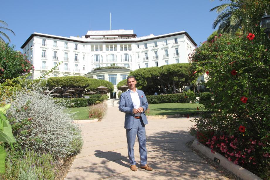 François-Régis Simon, directeur du Grand Hôtel du Cap Ferrat.