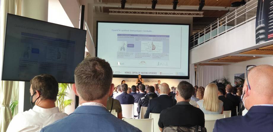 Les conférences sont retransmises en live sur Internet.