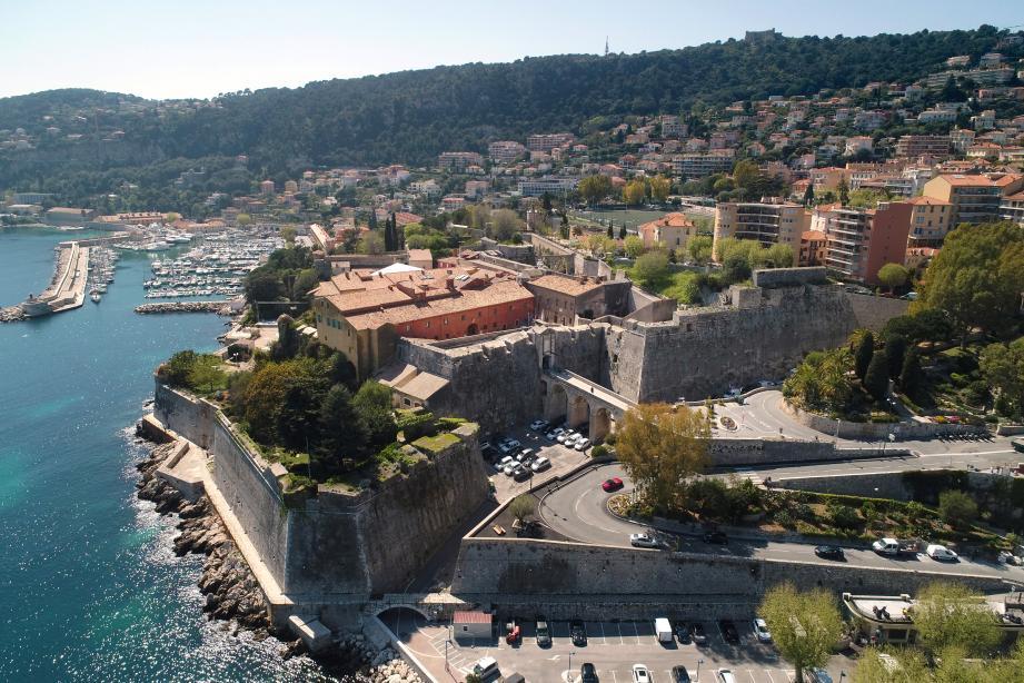 La citadelle de Villefranche-sur-Mer fait l'objet de nombreux travaux.