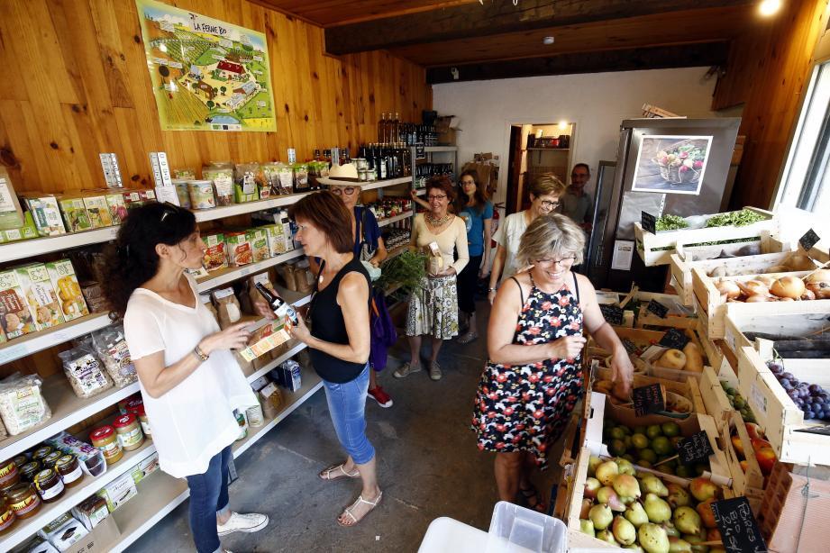 En 2017, juste après la création de l'association, la Coop-sur-Mer, c'était une épicerie d'à peine 17 m² en plein coeur de Toulon.