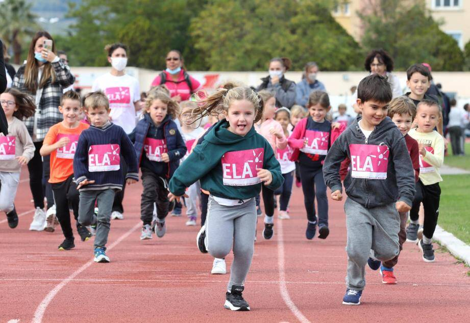 Plus de 3 000 euros ont déjà été récoltés par les élèves de primaire de Ste-Marthe en soutien à l'association Ela.