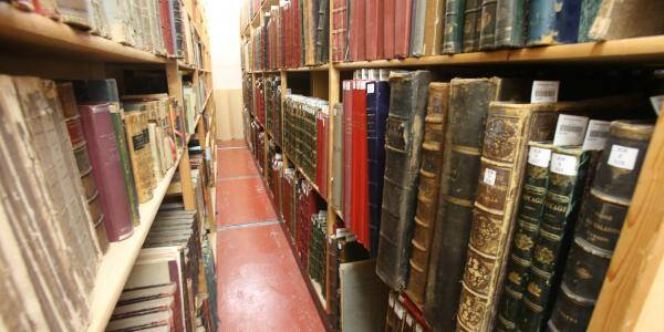 La bibliothèque Romain Gary à Nice.