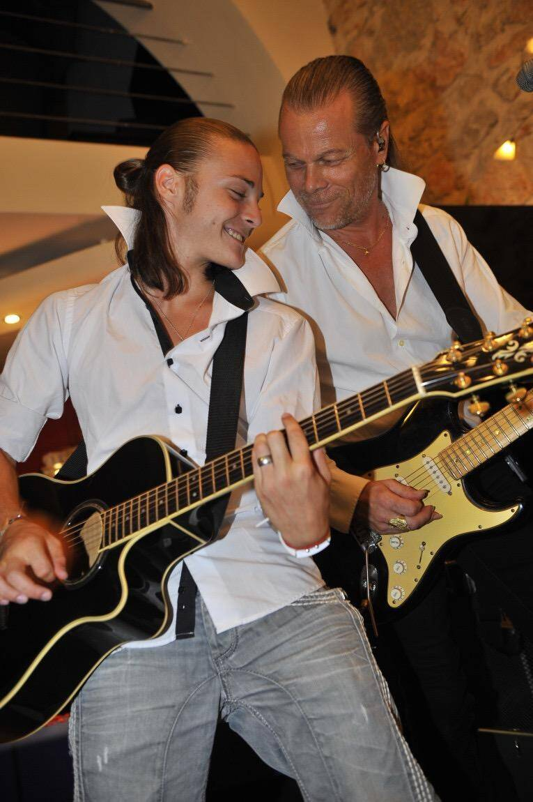 Steve Wdowik, danseur et musicien.