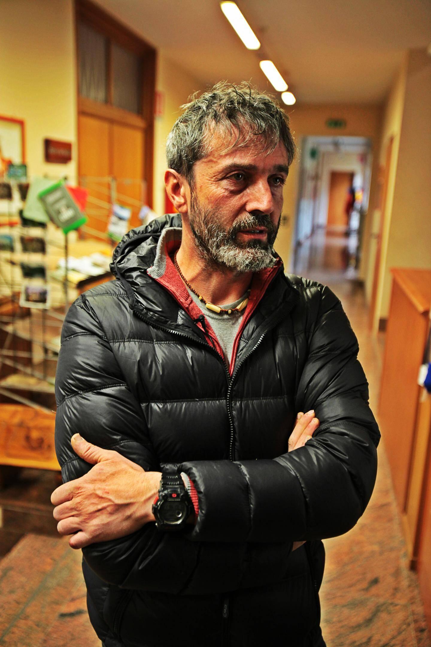 Davide Sigaudo, technicien conservation de la nature et aménagement