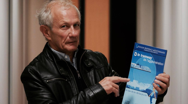 """Maurice Franceschi, président de Toulon Var Déplacement, regrette que """"TPM n'a pas mis en œuvre tous les moyens pour réaliser un TCSP dans les règles""""."""