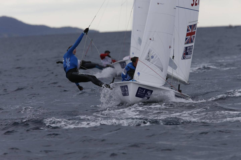 Dernier jour de la Sailing World Cup de Hyères