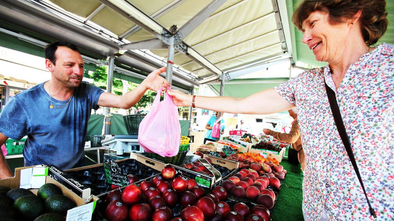 A partir du 1er juillet il faudra faire sans les sacs plastique non réutilisables.