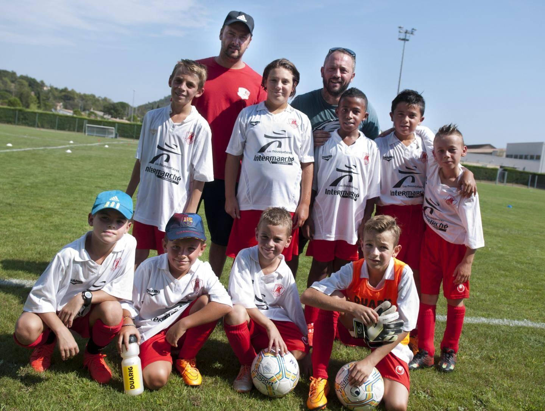 L'équipe U11 de Salernes.