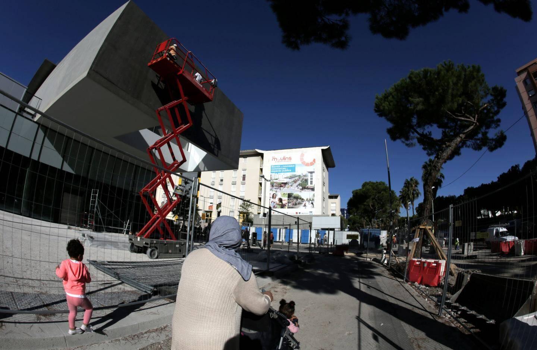 Un supermarché va ouvrir boulevard Paul Montel, en lisière du quartier sensible des Moulins.