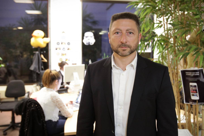 Yannick Mercanti, 47 ans, a fondé son cabinet de conseil, moins d'un an après avoir été licencié.
