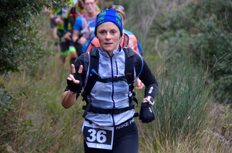 Cathy Lauth, 2e du classement féminin sur 30 km.