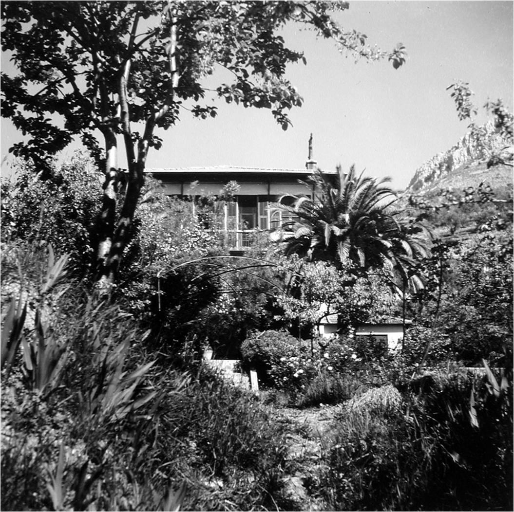 Villa le rêve à Vence, en 1943, quand Matisse s'y installe par crainte des bombardements