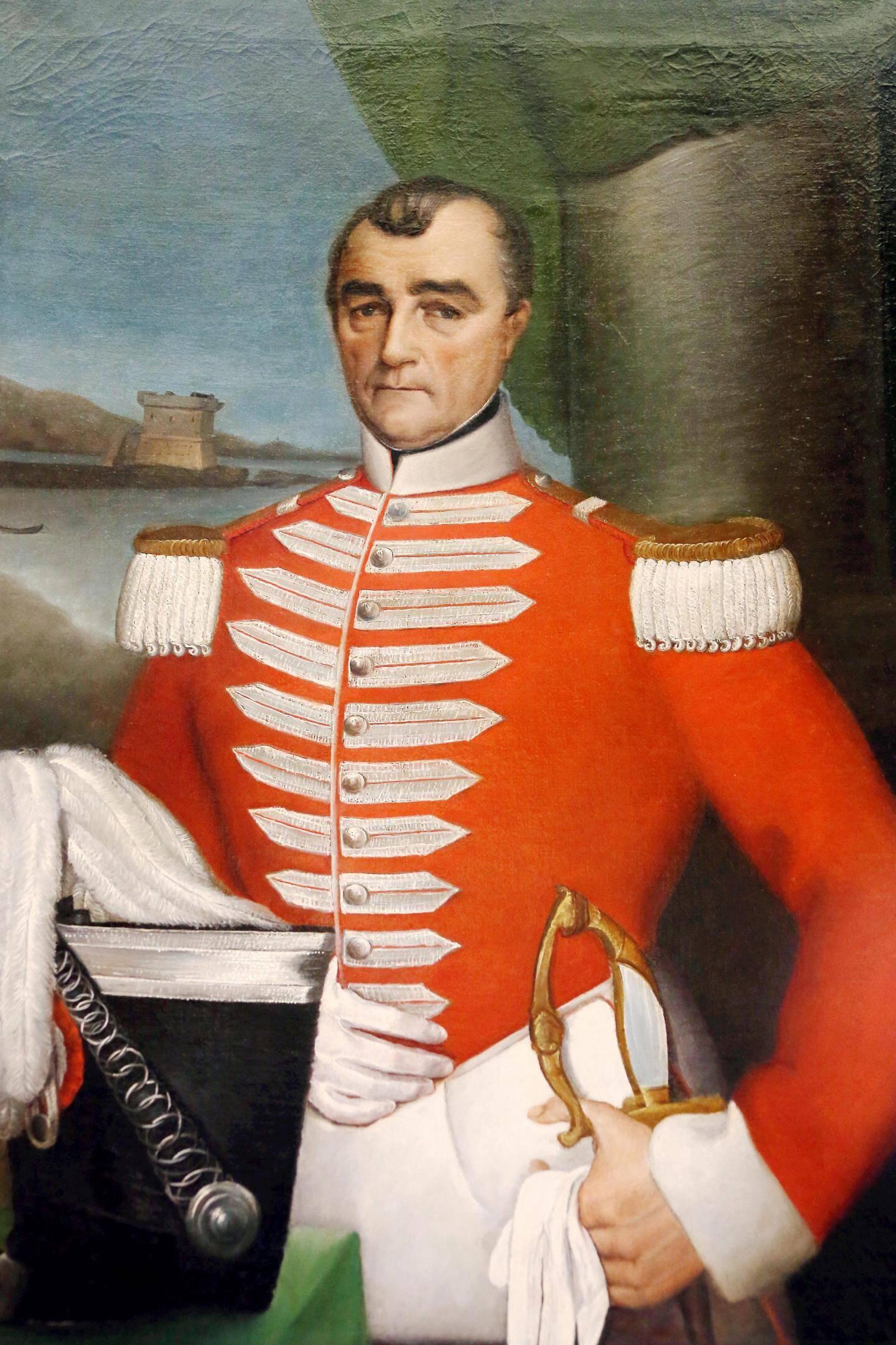 Adrien Médecin, le plus ancien portrait existant.