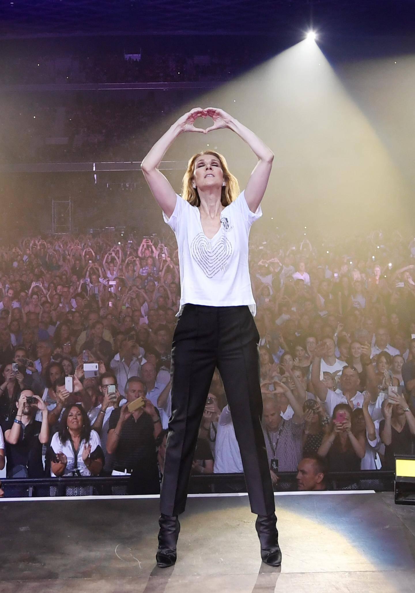 Concert de Céline Dion le 20-07 à Nice.
