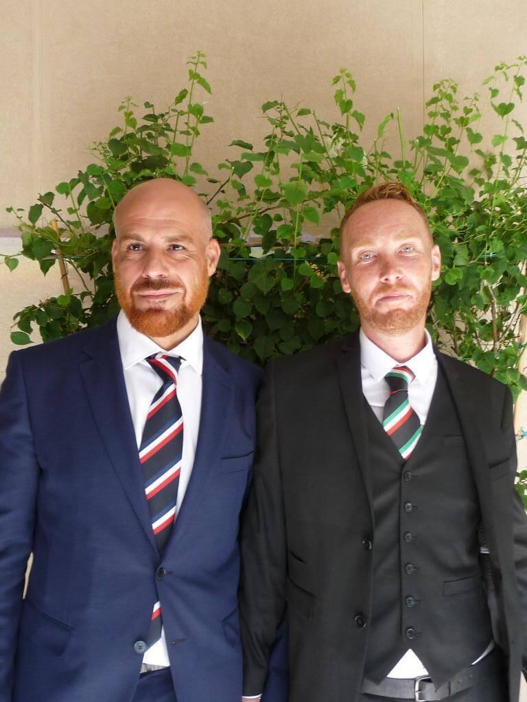 Paolo Paolucci et Pierre-Yves Myard-Leurquin, auto-entrepreneurs.