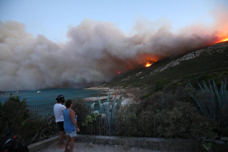 L'incendie à Ramatuelle.