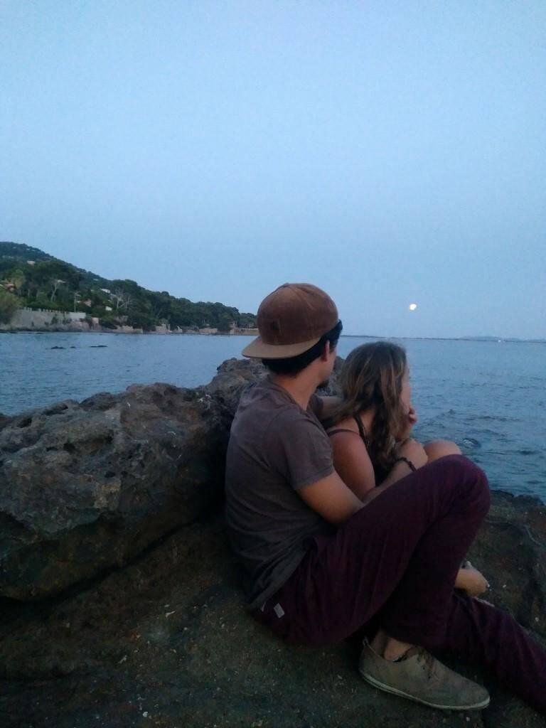 « Nous voulions être seuls avec cette éclipse partielle ».