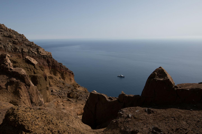 Les scientifiques ont recensé les grottes des îles Desertas, dans lesquelles se reproduisent les phoques moines.