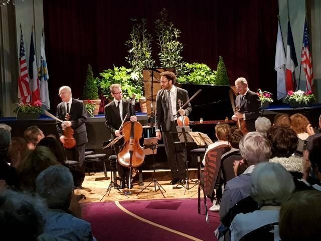 Le Fine arts quartet a incarné le Quartet américain de Dvorák au Beaulieu classic festival. Au piano, Jean-Marc Luisada (ci-dessous) a, lui, rendu un vibrant hommage à Chopin.