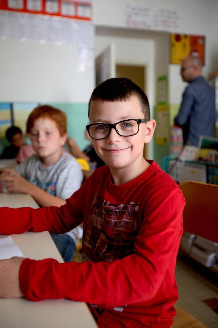 """Léo, 9 ans, CM1: """"Je comprends les choses. Aujourd'hui j'ai appris qu'il y avait des molécules dans le sel."""""""