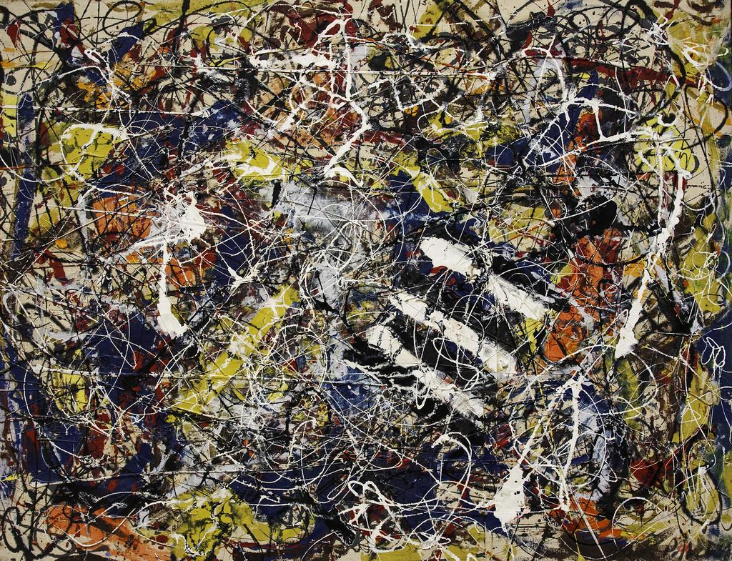 Number 17A, Jackson Pollock