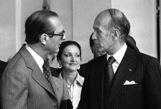 Chirac et Giscard.