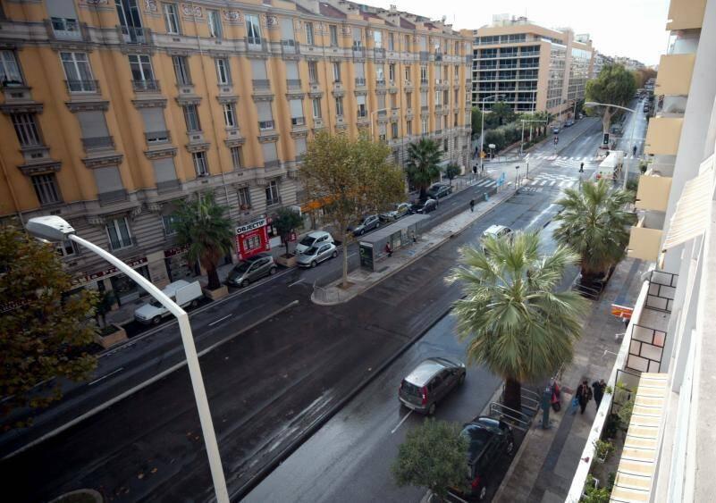 Le quartier de Sainte-Hélène, sur l'avenue de la Californie, à Nice-Ouest.