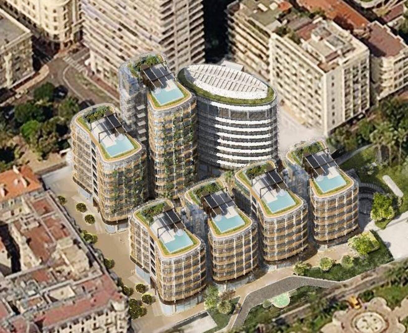 Le nouveau coeur de Monte-Carlo devrait battre début 2019