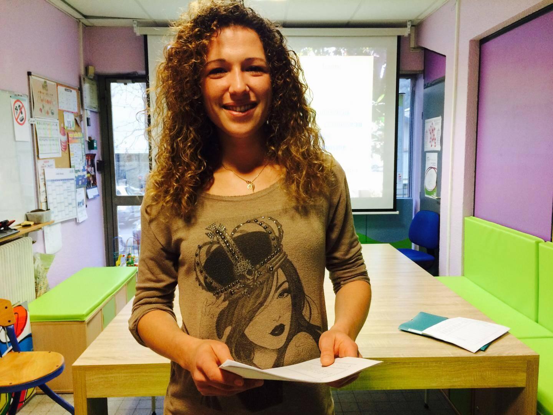 Lara, enseignante de Français pour l'association Ars Lengendi