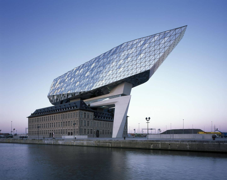 L'Antwerp Port House.