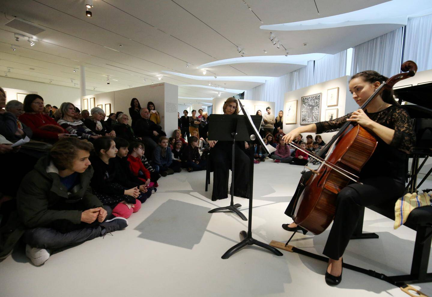 """De la musique baroque pour les """"Matinales"""" au musée Jean Cocteau"""