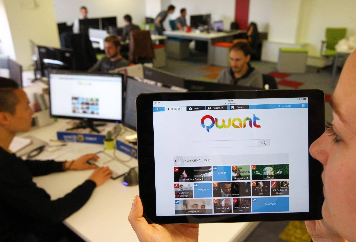 Qwant, le moteur de recherche azuréen, ne collecte aucune donnée personnelle de navigation.