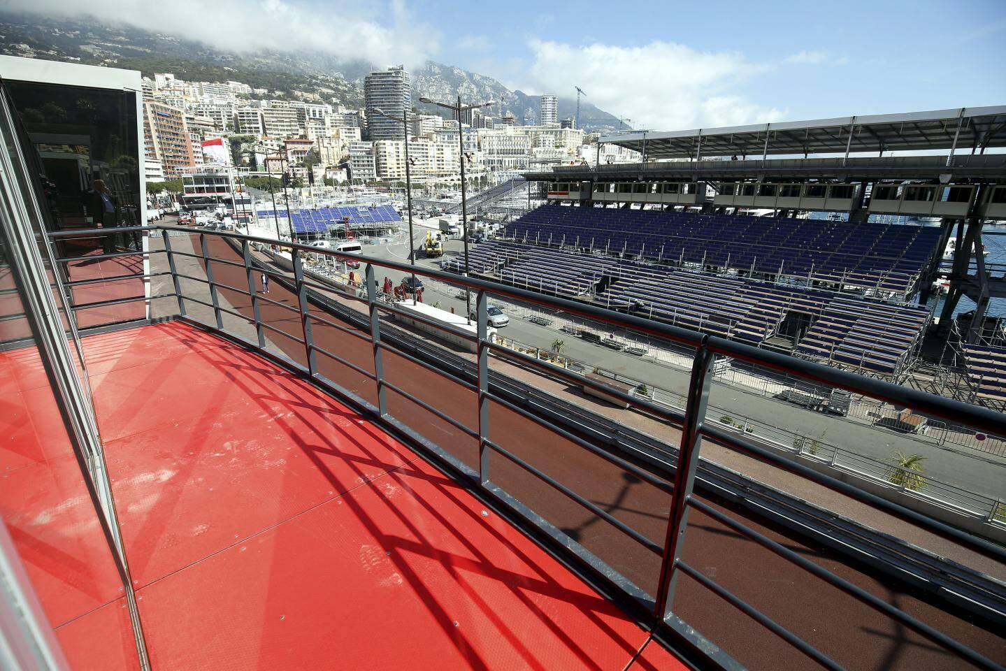 Les invités VIP des écuries auront une vue exceptionnelle sur le circuit.