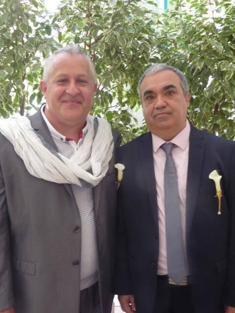 Pascal Benso, responsable comptable, et Gérard Colas, sans emploi.