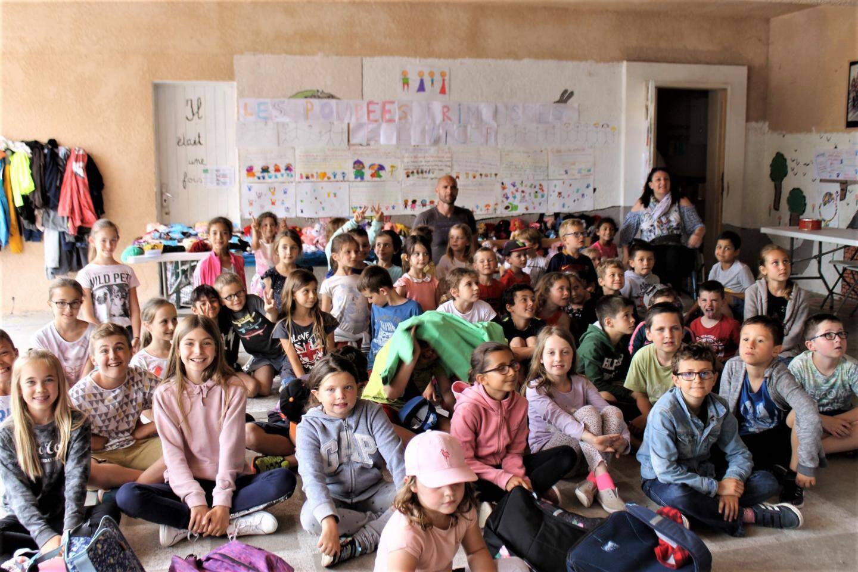 Les élèves de CP de Madame Dogan.
