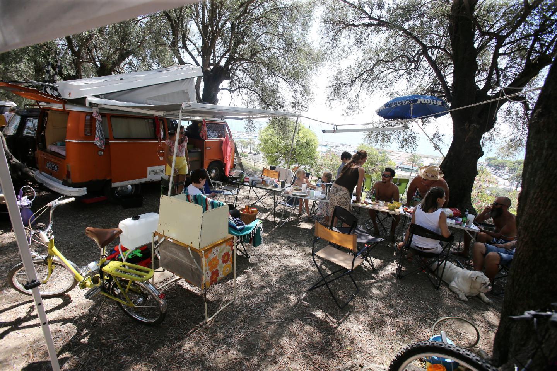 Le parc du Pian se transforme en camping.