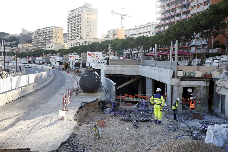 L'entrée du futur parking se situera au niveau de la route de la Piscine.