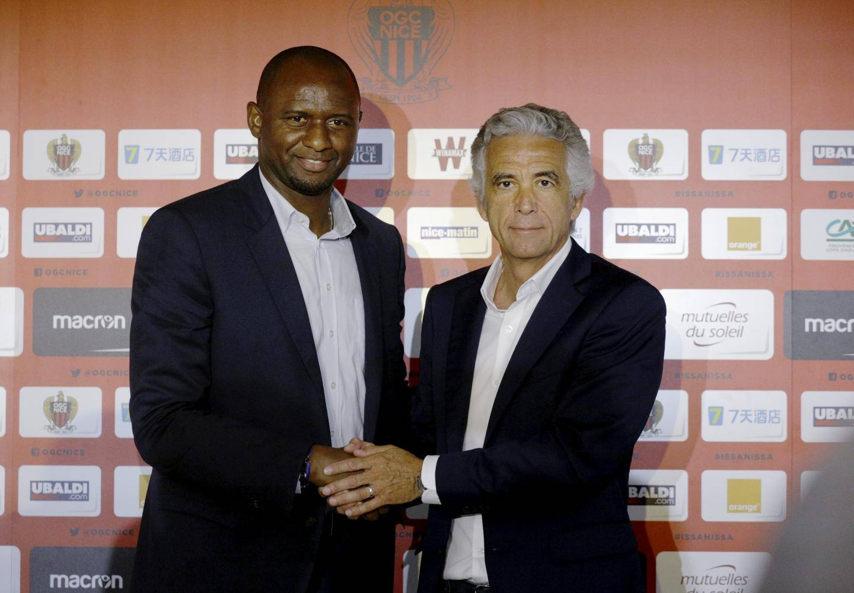 Jean-Pierre Rivère a réussi à faire venir Patrick Vieira à l'OGC Nice.