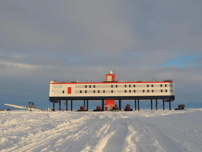 La station scientifique allemande en Antarctique.