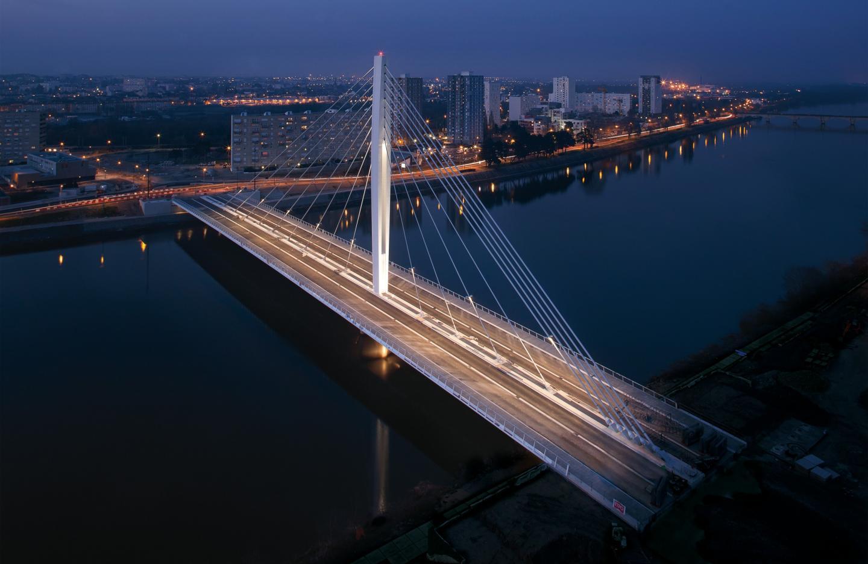 Le pont Éric-Taberly à Nantes