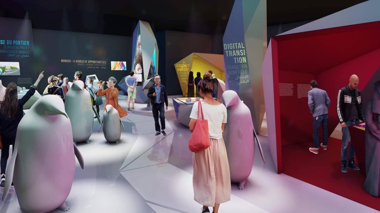Les visiteurs découvriront les engagements de Monaco dans divers domaines.