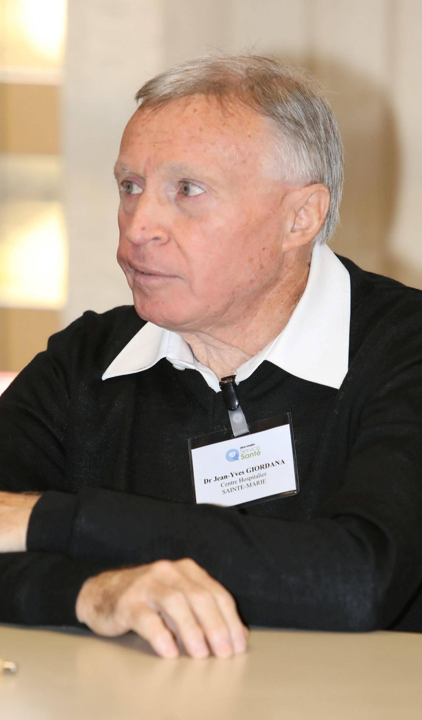 Dr Jean-Yves Giordana, CH Sainte-Marie