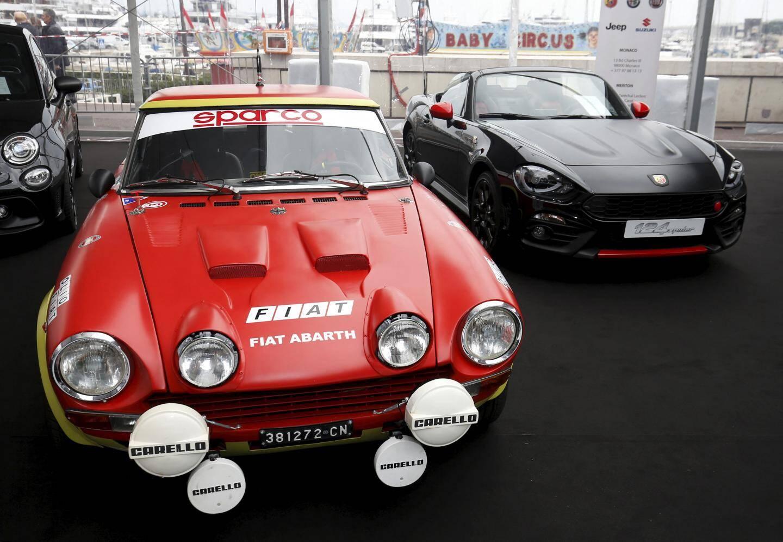 Dans la famille Fiat Abarth 124, je demande la grand-mère et la fille.
