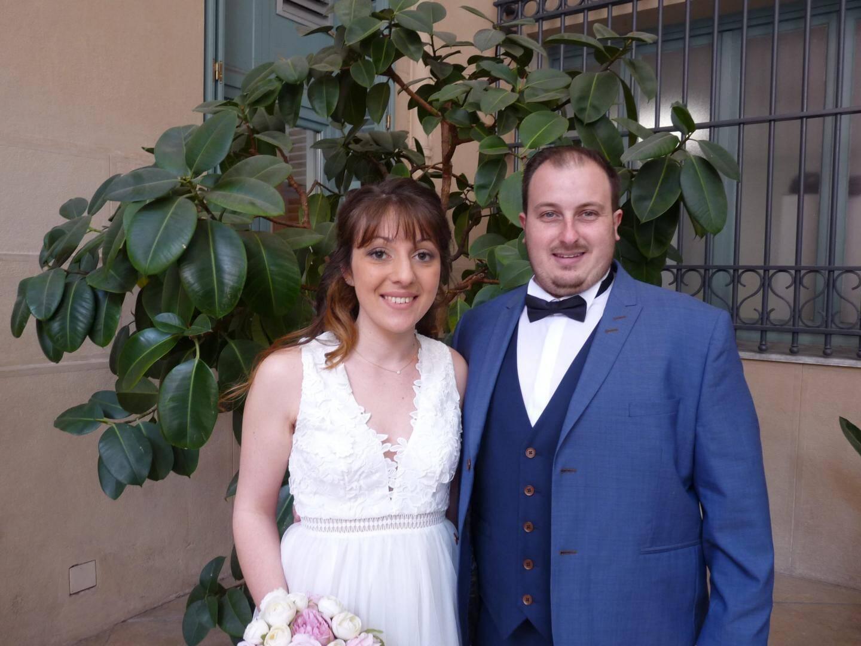 Carla Magne, infirmière, et Thierry Napoletano, ingénieur.