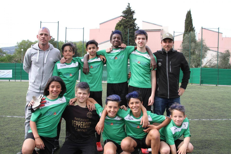 Les jeunes de l'US Plan-de-Grasse ont échoué aux portes de la finale face au voisin du RC Grasse.