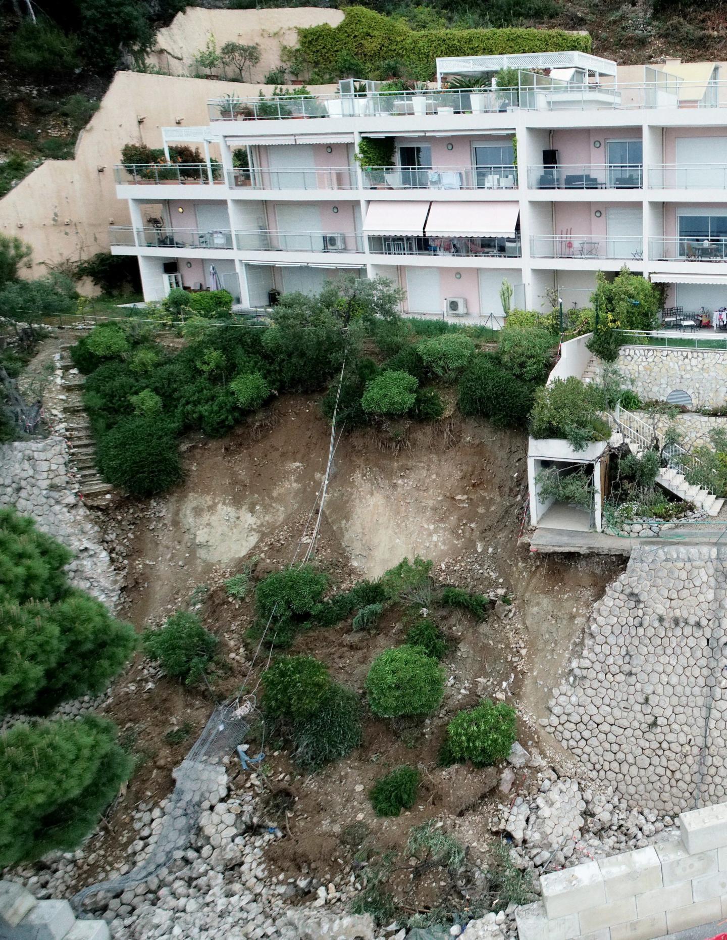 Certains habitants de la résidence Les Jardins de Monaco ont été évacués et relogés.